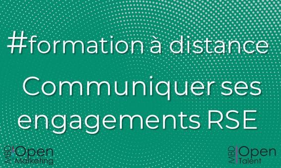 Formation Communiquer sur ses engagements RSE