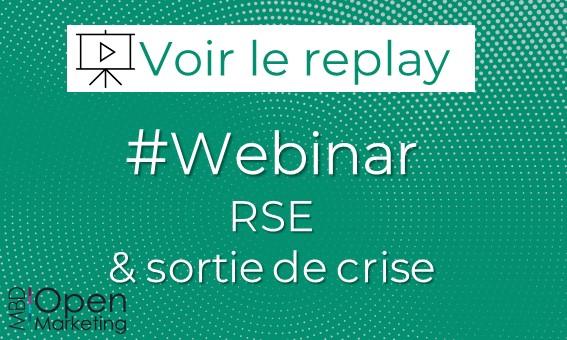 Webinar RSE et sortie de crise >> Découvrez notre replay