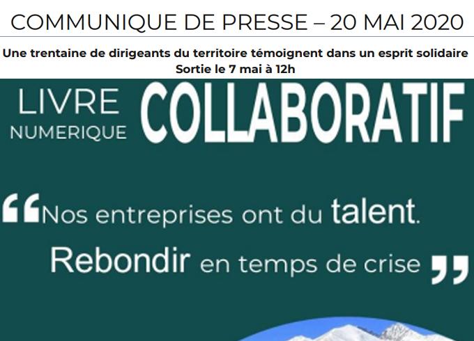 6 mai 2020 - Communiqué de presse - Livre numérique collaboratif