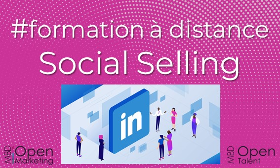 ormation commerciale social selling mbd open marketing
