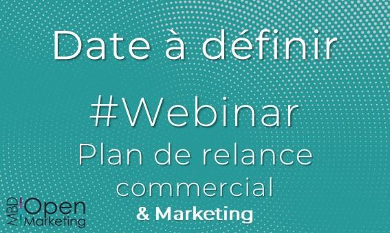 WEBINAR PLAN DE RELANCE >> Prochainement